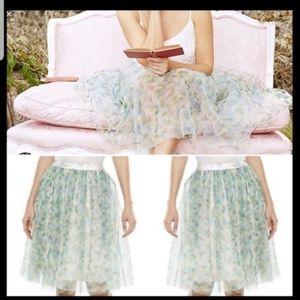 Lauren Conrad Disney Cinderella Tulle Floral Skirt